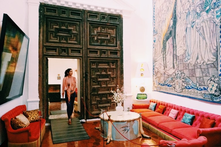 It's gorgeous inside the Gala Dali Castle - The Best Day Trips From Barcelona