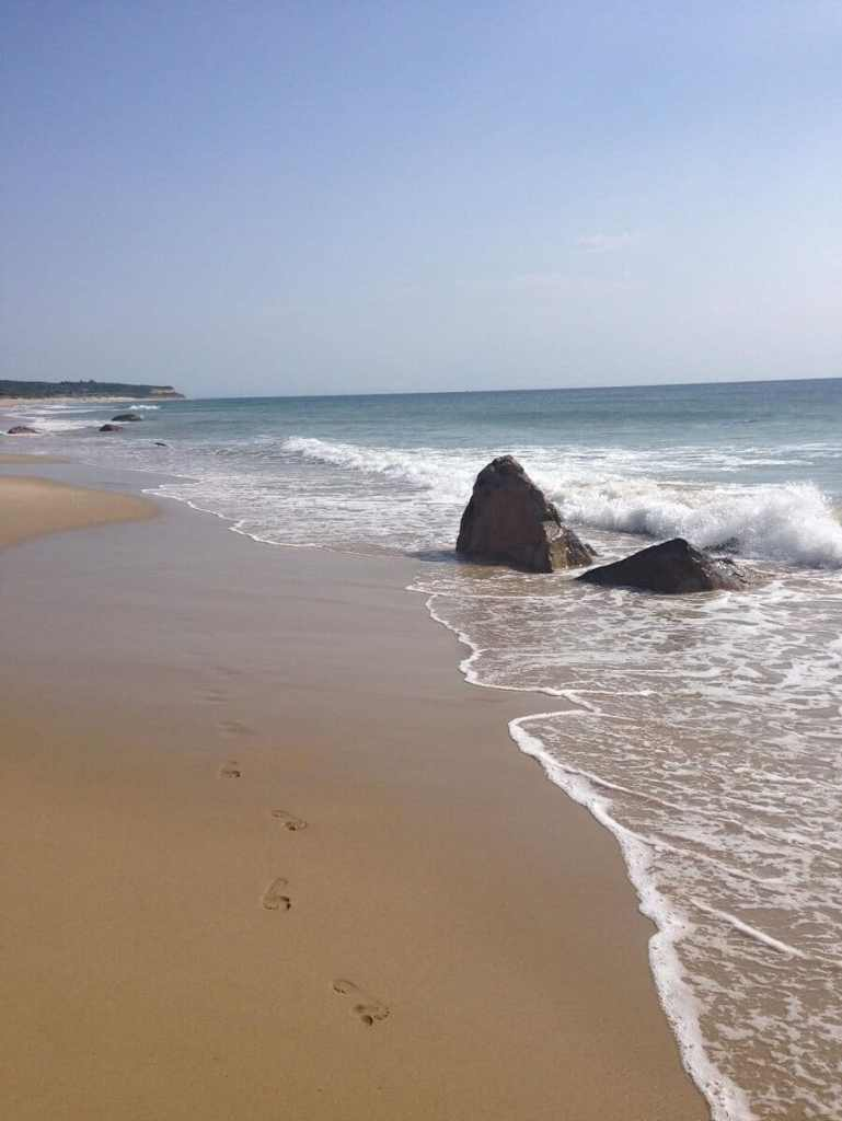 """You can find some stunning beaches on Block Island. - """"Block Island Ferry and Travel Guide"""" - Two Traveling Texans"""