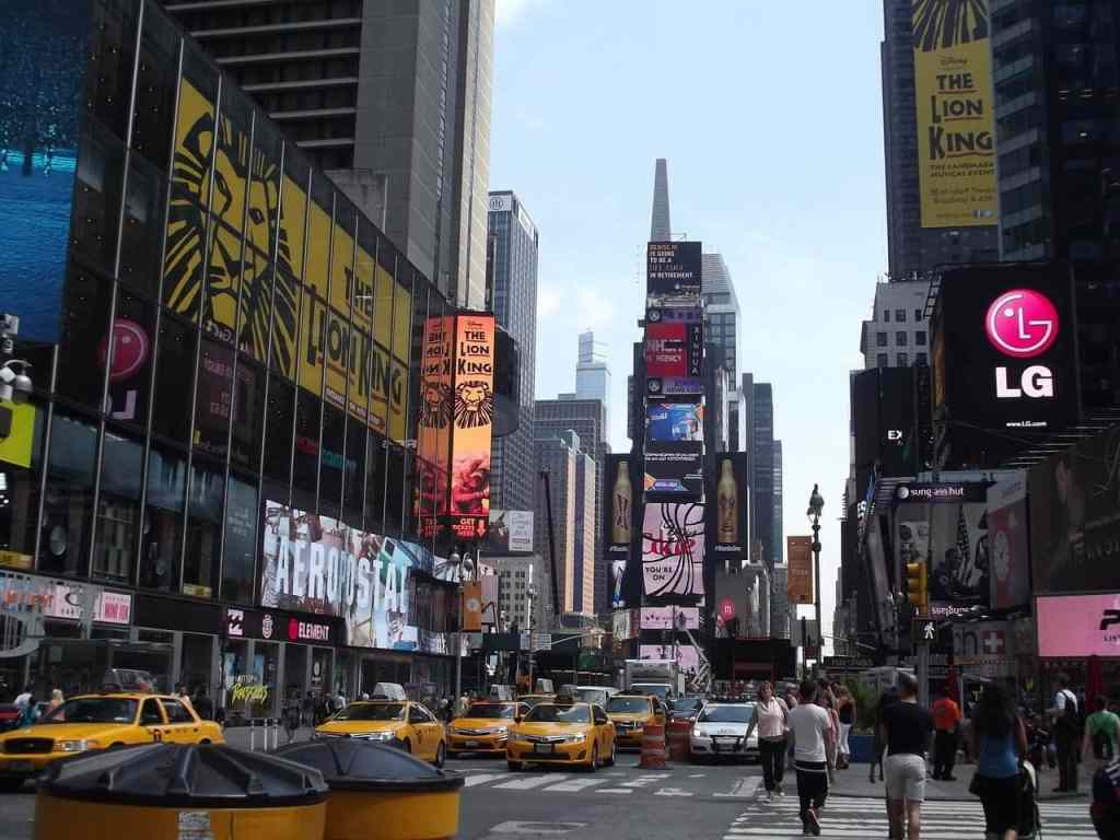 """Times Square - """"Tips for Visiting New York City For the First Time"""" - Two Traveling Texans"""