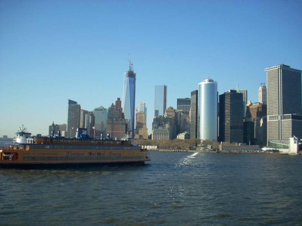 """The Staten Island ferry is free and you get great views of downtown Manhattan and the Statue of Liberty. - """"Tips for Visiting New York City For the First Time"""" - Two Traveling Texans"""
