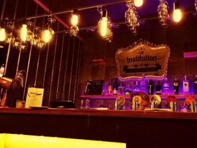 The Institution–a tiny but great bar