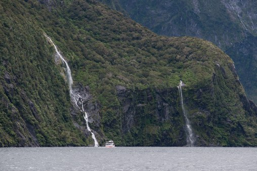 Boat for scale–and this was one of the smaller falls