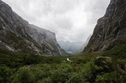 Green Valleys and huge mountains