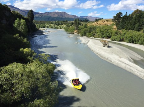 Jet Boating in Queenstown