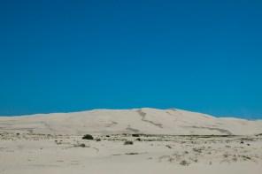 Stockton beach looks like a desert