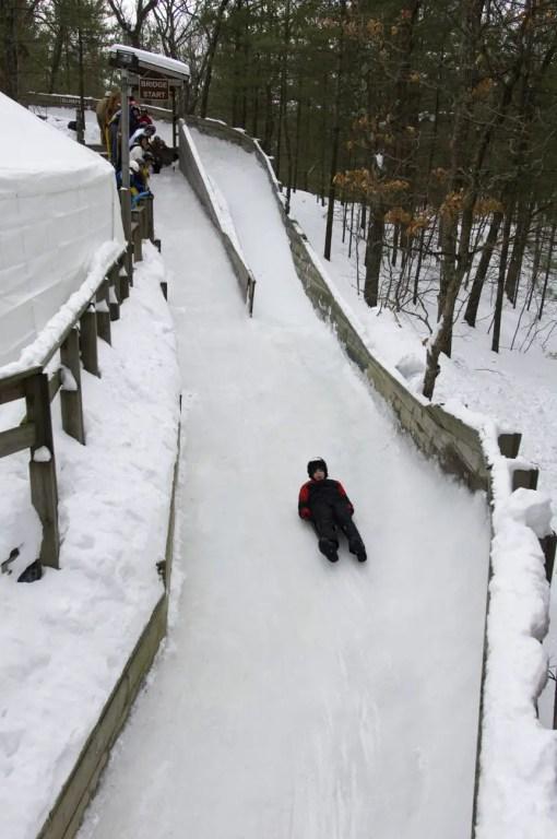 Luge Track - Winter Blues
