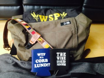 Drummer Mark Alberts Swag Bag