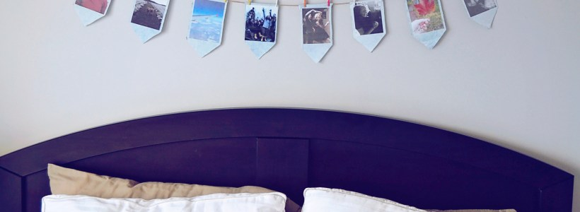 DIY Photo Garland