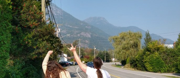 A Whirlwind Weekend in British Columbia