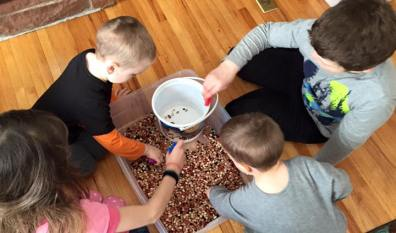 Cooperative Bean Race