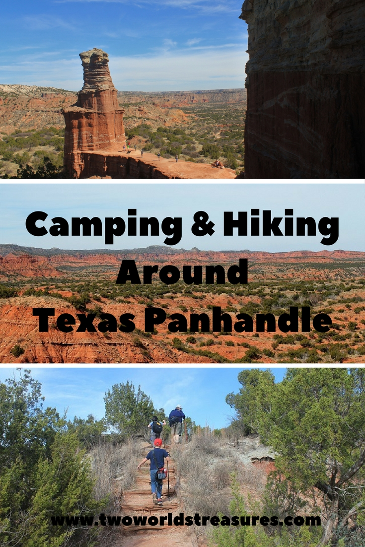Camping & Hiking Around Texas Panhandle - TWO WORLDS TREASURES