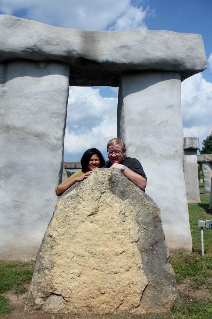 Stonehenge II at Ingram, Hill Country, TX.