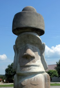 Stonehenge torso at Ingram, Hill Country, TX.