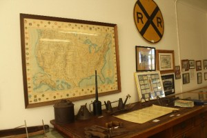 The railroad collections.