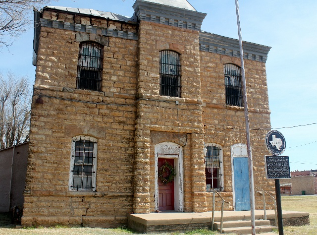 Camping & Hiking Around Texas Panhandle: Historic Hardeman County Jail Museum: Two Worlds Treasures