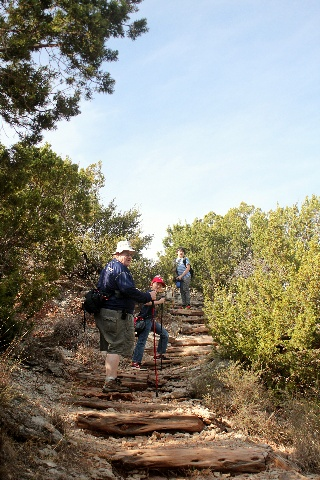 Copper Breaks State Park - beginning of Juniper Ridge Nature Trail