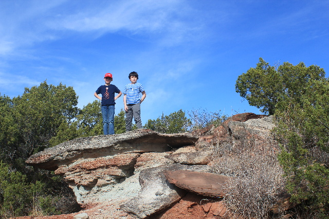 Camping & Hiking Around Texas Panhandle: Juniper Ridge Trail, Copper Breaks SP: Two Worlds Treasures