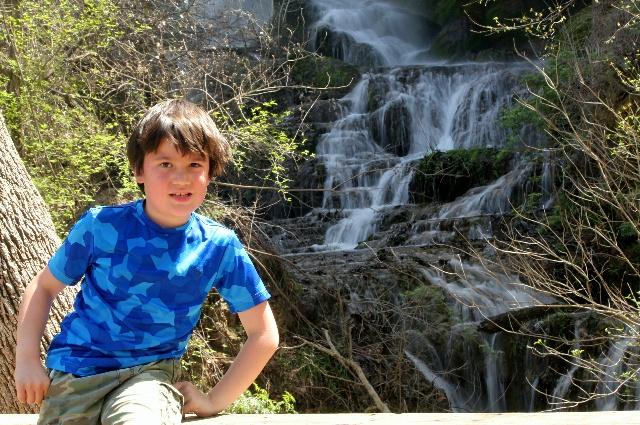 Colorado Bend: at Gorman Falls: Two Worlds Treasures