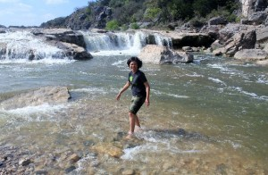 Potholes at Pedernales State Park: water fun: Two Worlds Treasures