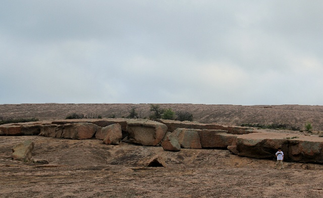 Enchanted Rock - pink granite dome - Two Worlds Treasures