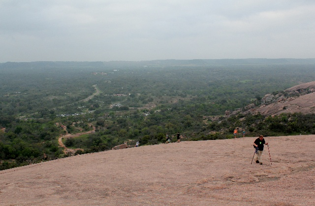 Enchanted Rock - on the way to the top - Two Worlds Treasures