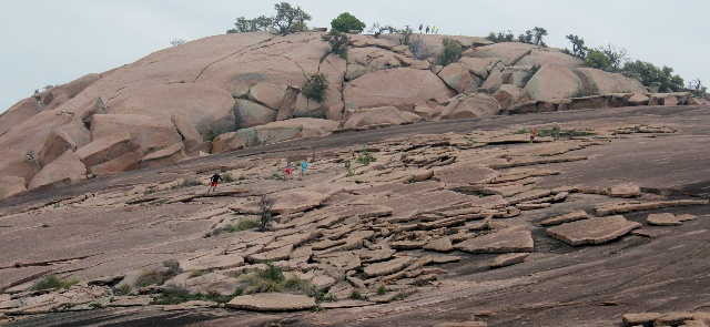 Enchanted Rock - rock sliding - Two Worlds Treasures