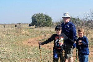 Roaming with the bison at Caprock Canyons State Park, Texas.