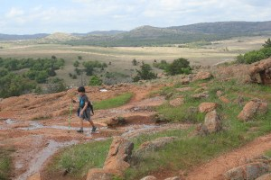 Wichita Mountains Wildlife Refuge: hiked the Elk Mountain Trail.