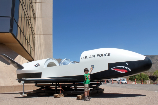 New Mexico Museum of Space History: John P. Stapp Air & Space Park.