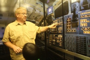 New Mexico Museum of Space History: control room.
