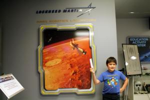 Space Foundation Discovery Center: Mars Robotics Laboratory.