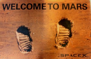 Space Foundation Discovery Center: Welcome to Mars.