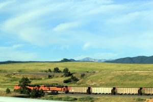 Colorado One Week Unplanned Trip: train going south.