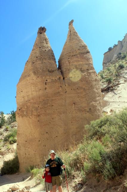 Santa Fe & Albuquerque - Kasha-Katuwe Tent Rocks National Monument unique rock formation - Two Worlds Treasures