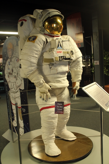 Space Foundation Discovery Center: space suit.