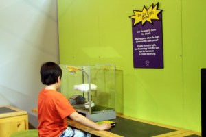 Space Foundation Discovery Center: Super Kids Save the World exhibit.