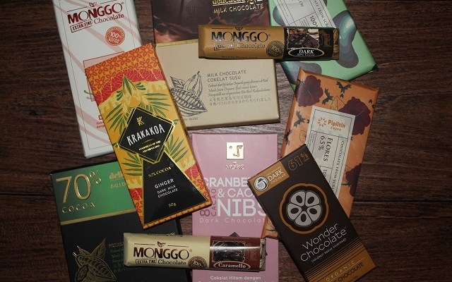 Various great taste Indonesian chocolate