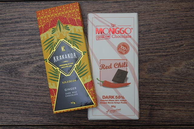 Krakakoa & Monggo Chocolate, made in Indonesia.