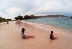 Island Hopping Flores Day 2 - Pink Beach - Two Worlds Treasures