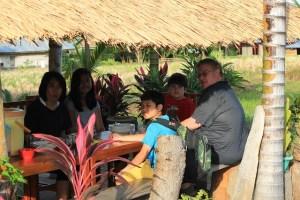 Two Worlds Treasures - breakfast at Wae Rebo Lodge, Dintor, East Nusa Tenggara, Indonesia.