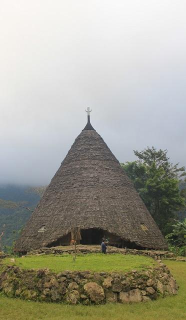 Two Worlds Treasures: Niang Gendang: Wae Rebo, Flroes, Indonesia.