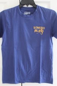 Two Worlds Treasures - my Komodo Island t-shirt