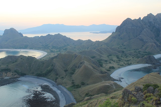 Island Hopping Flores, Indonesia - Day 1 - Padar Island, from the top - Two Worlds Treasures