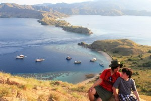 Island Hopping Flores Day 2 - Gili Lawa Island - mom & son - Two Worlds Treasures