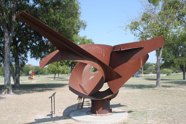 Hanna Springs Sculpture Garden - Lampasas TX - We Will Spread - Two Worlds Treasures