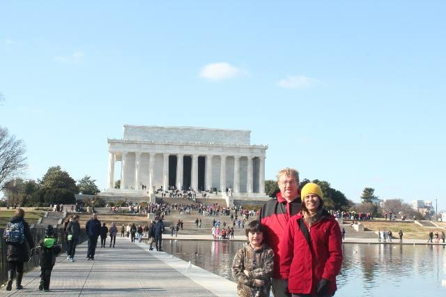 Visiting Washington, D.C. during Christmas Break-Reflecting-Pool