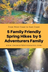 5 Family Friendly Spring Hikes - 5 Adventurers Family - Two Worlds Treasures
