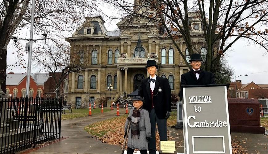 Dickens Victorian Village in Cambridge, Ohio - Two Worlds Treasures