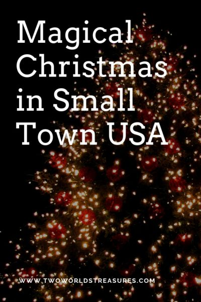 Magical Christmas In Small Town Usa Two Worlds Treasures