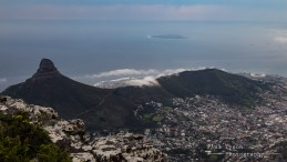 Clouds forming over Lions Head